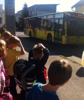 Busschule für Erstklässler