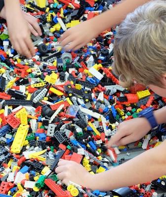 LEGO-Projekt in der OGS
